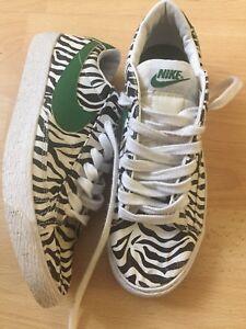 Uk Print nero Unisex Eur Size Nike 41 e Blazers Bianco 7 Zebra 40AwxqA1