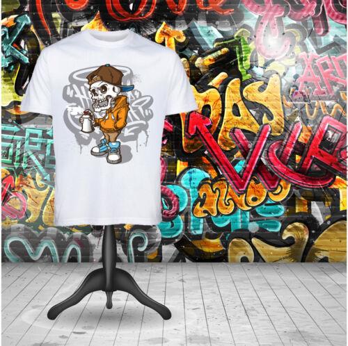 SKULL GRAFFITI Ragazzi T-shirt