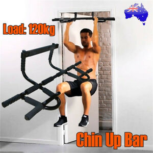 Door-Chin-Pull-Up-Bar-Portable-Home-Gym-Exercise-Workout-Fitness-Power-Training