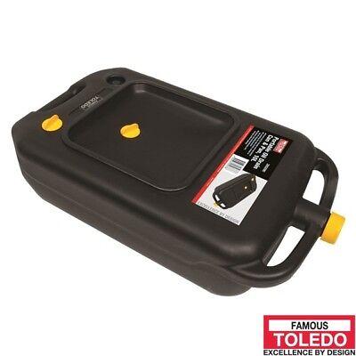 TOLEDO Portable Oil Drain Pan 10L 305090