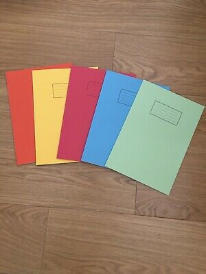 8 A4 Classmates Home Schooling School Exercise Books Notebooks Homework 80 Pages