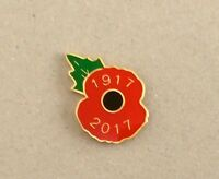 OFFICIAL ROYAL BRITISH LEGION 2017 POPPY PIN BADGE (British Legion Collector)