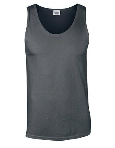 Gildan Hommes Muscle Shirt Softstyle ® Tank Top S M L XL XXL g64200