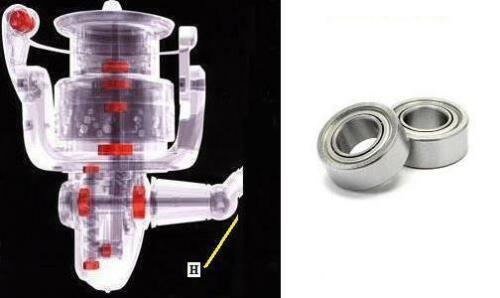 BB 4000S LB SS C3000HGM Handle bearing upgrade EXSENCE BB C3000M