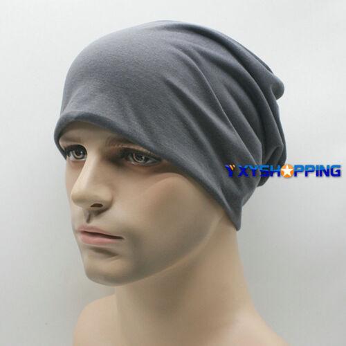 Unisex Men Knitted Loose Beanie Foldable Loose Hat Oversize Skateboard Mini Caps
