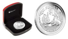 Australia 2011 YEAR OF THE RABBIT 1 OZ SILVER PROOF COIN SERIES II RARE!