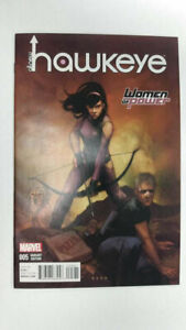 ALL-NEW HAWKEYE #5  1st Printing - Women of Power Variant   / 2016 Marvel Comics