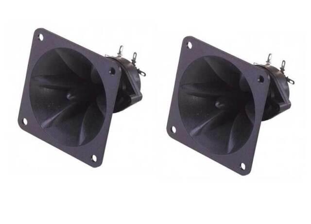 TWEETER carré piezo en ABS 150W max style motorola lot de 2 pieces