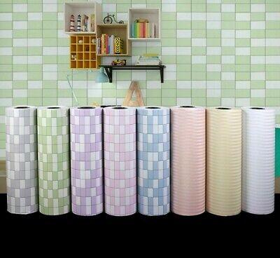 Bathroom Bedroom Tiles Sticker Nichseng 3D Waterproof Wallpaper Border Peel and Stick Wall Border Foam Mirror Borders Removable Self Adhesive Tiles Sticker for Kitchen