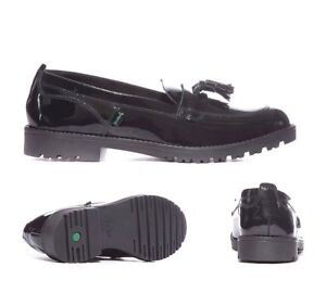 Kickers-Lachly-Black-Patent-Loafer-Youth-School-Formal-Shoes-RRP-59-99