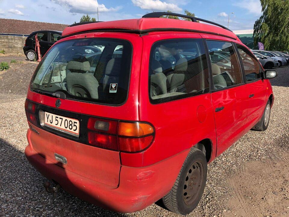 VW Sharan 2,0 Trendline Benzin modelår 1999 km 263000 træk