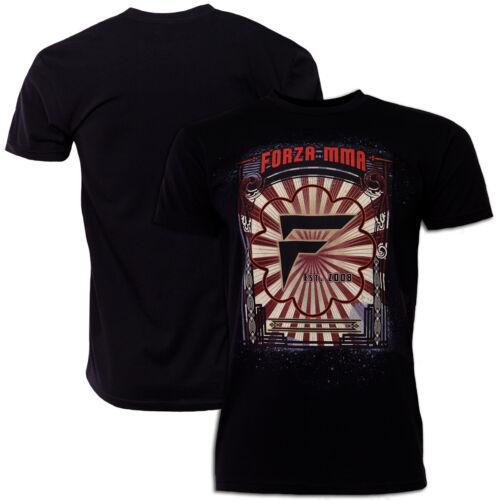 "Forza Sports /""Awakening/"" MMA T-Shirt Black"