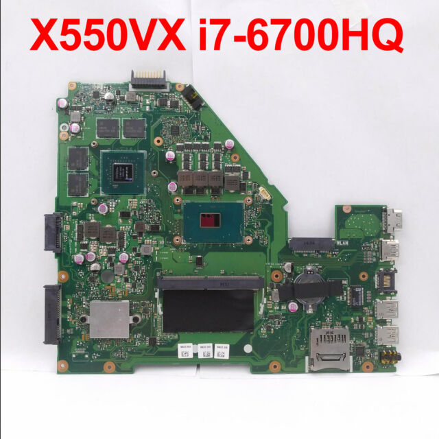 Exchange For ASUS ROG G752VY Laptop Motherboard W// I7-6700HQ Main Board GTX980M