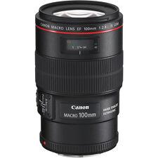 Canon EF 100mm f/2.8L Macro IS USM Lens #3554B002 BRAND NEW!