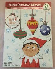 Elf on the Shelf Christmas Holiday Advent Calendar Chocolate 24