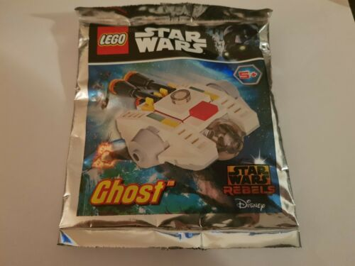 LEGO Star Wars 911720 The Ghost Foil Pack Magazine Complete NEW