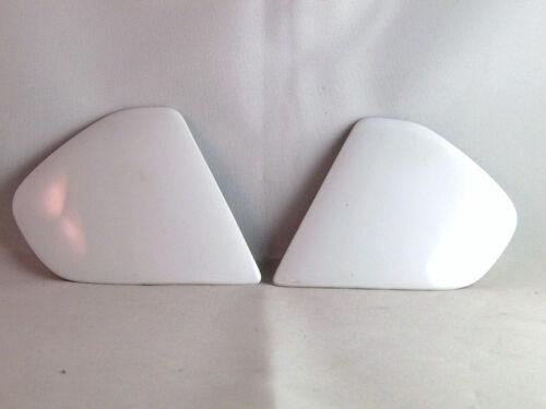 Arai Helmets SIGNET GTR GT Side Pods Shield Covers Visor Holders WHITE Parts