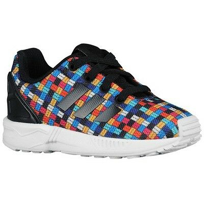 3f1009f071190 Official Adidas Originals ZX Flux I Toddler Sneakers (S77912) Boys Size (4K)