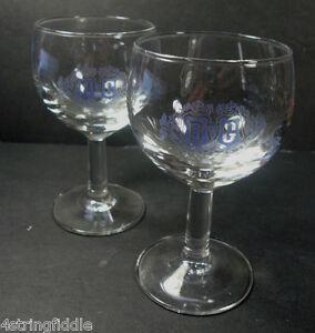 B-amp-G-Fondee-En-1725-Brandy-Wine-Cordial-Stemmed-Shot-Glasses-Barton-amp-Guestier
