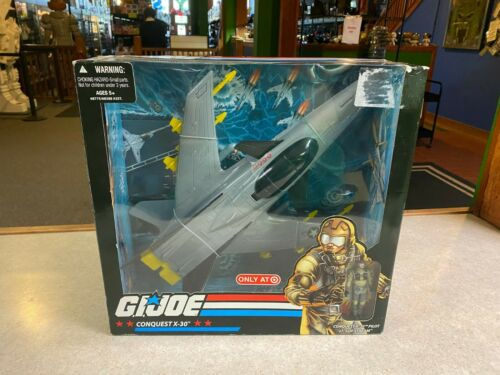 Joe Cobra 25th anniversaire cible conquête Jet X-30 NEW IN BOX 2007 G I