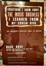 Musician Guide To Success, Dave Rose, Deep South Entertainment, Business How To