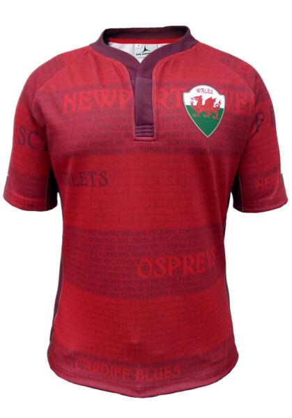 Acquista A Buon Mercato Olorun Galles Legends Maglia Da Rugby Sostenitori S-7xl