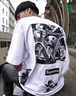 SS17 Supreme M.C. Escher Collage T-Shirt CDG Box Logo Tee Black White S-XL