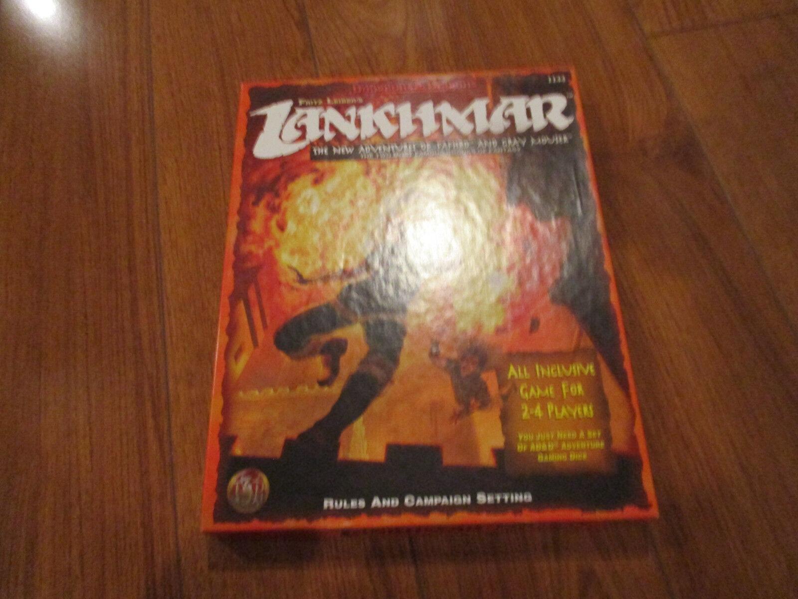 TSR AD&D Lankhmar reglas y campaña ajuste Box Set