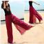 Summer-Bohemia-Chiffon-Bohemia-Women-Casual-High-Waist-Beach-Loose-Pants-Shirt thumbnail 13