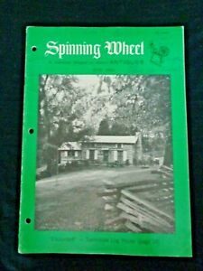 Spinning-Wheel-1965-Log-Houses-Glass-Marbles-Leonine-Crest-Livery-Buttons-Silver