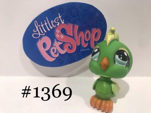 Hasbro LPS Authentic Littlest Pet Shop COCKATOO BIRD #1369