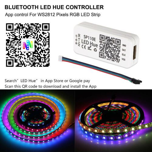 Ws2812B Ws2811 Sk6812 strip Rgb Sk6812 Rgbw Bluetooth Sp110E Mini Controller 5V