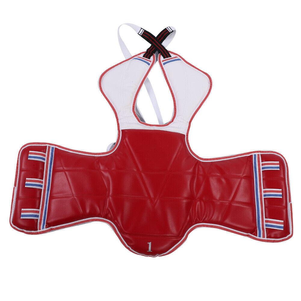 Taekwondo Ausrüstung Komplett Set Schutz und Schoner Kinder Herren Komplettset #