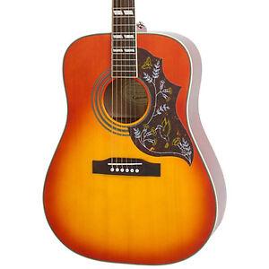 Image is loading New-Epiphone-Hummingbird-Pro-Cherry -Sunburst-Acoustic-Electric-
