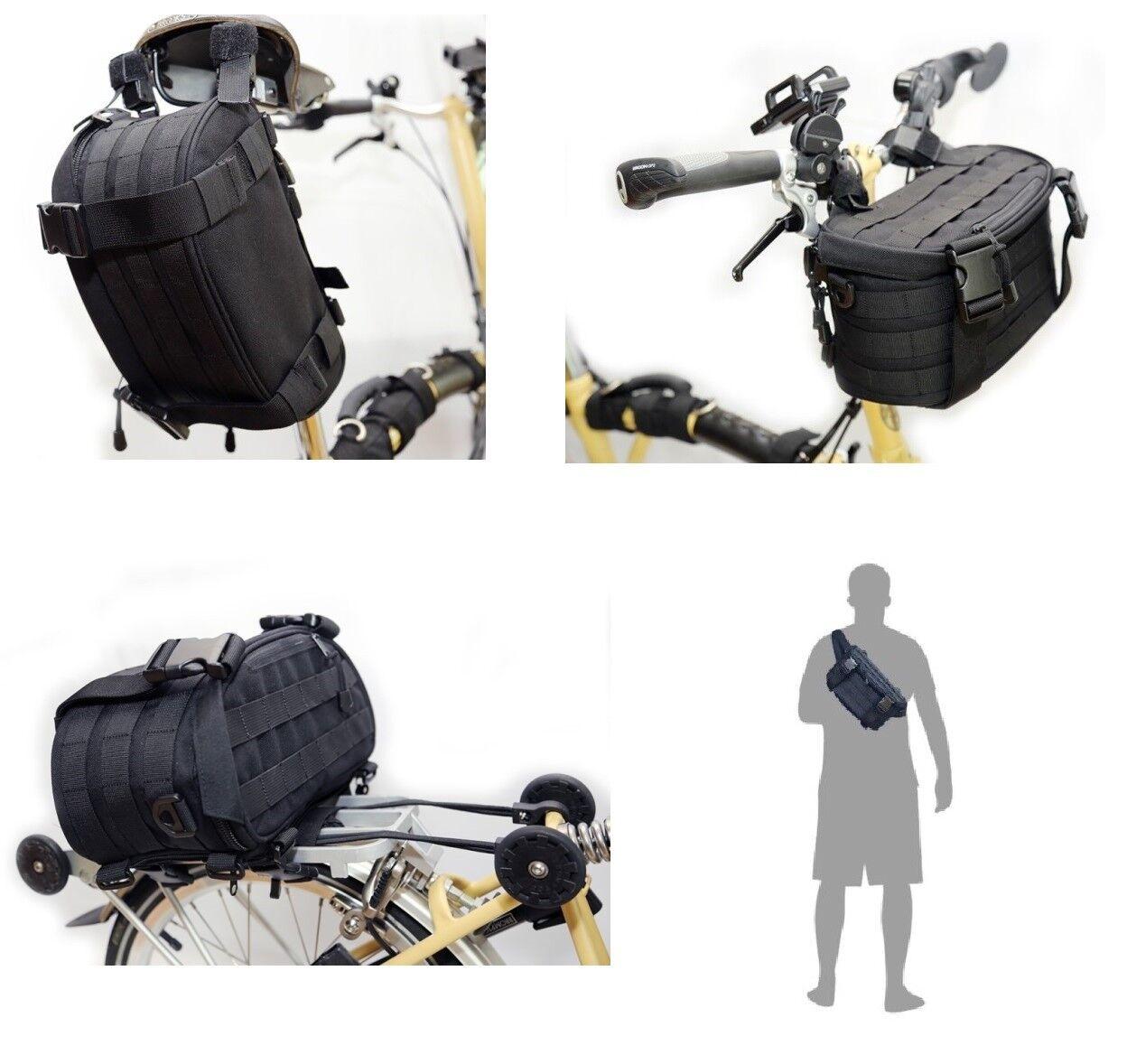 Brompton Rear &  Front Bag Bike Bicycle Multi Tool Bag Congreens to Messenger bag  sale online discount