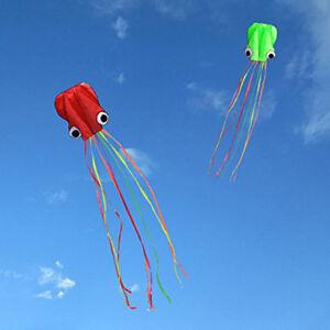 Octopus-Kite-30M-String-Kids-Fun-Outdoor-Beach-Park-Games-Holiday-Weekends-Cute