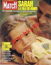 Paris Match n°1933 du 13/06/1986 Sarah Biasini Léonor Fini bal Débutantes Affich