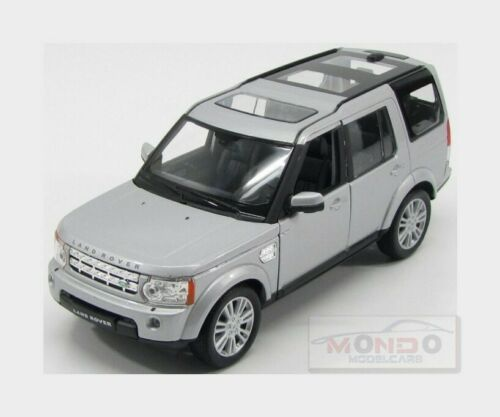 Land Rover Discovery Iv 2010 Silver WELLY 1:24 WE24008S