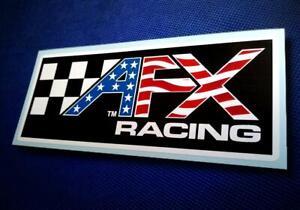 Custom AFX RACING • Aurora • USA-Style Slot Car Sticker • Pit Box Decal