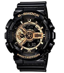 Casio-G-Shock-GA110GB-1A-Anadigi-Gold-amp-Black-XL-Gshock-Watch-COD-PayPal