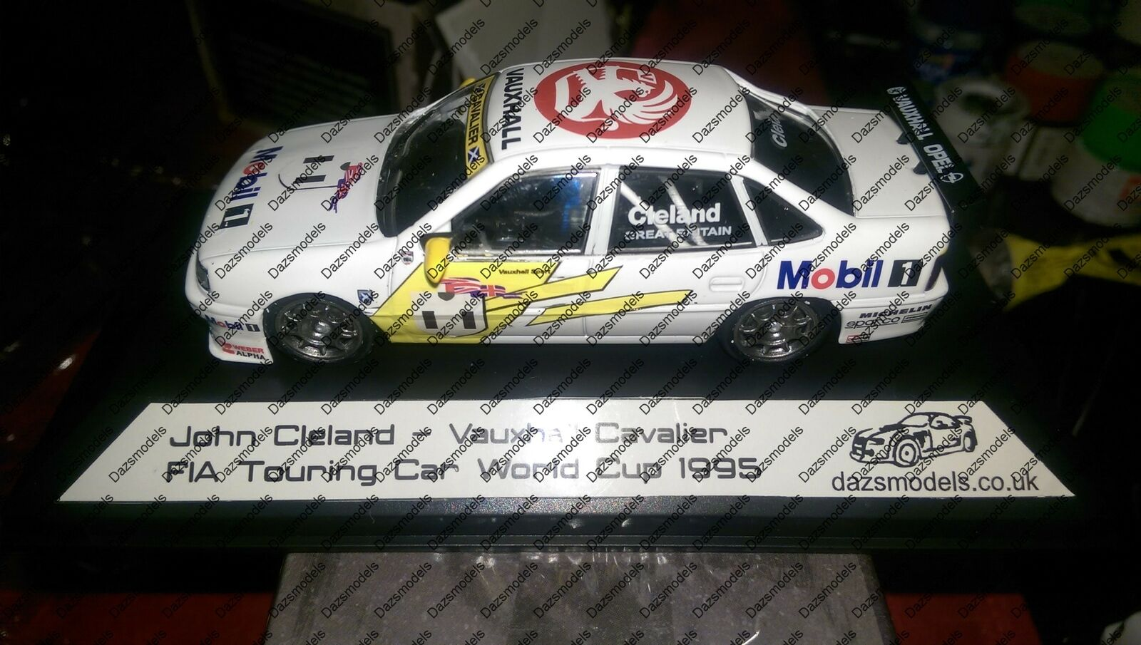 Racing Replicas Code 3 Vauxhall Cavalier 1995 Fia Touring Car World Cup J.Cle...