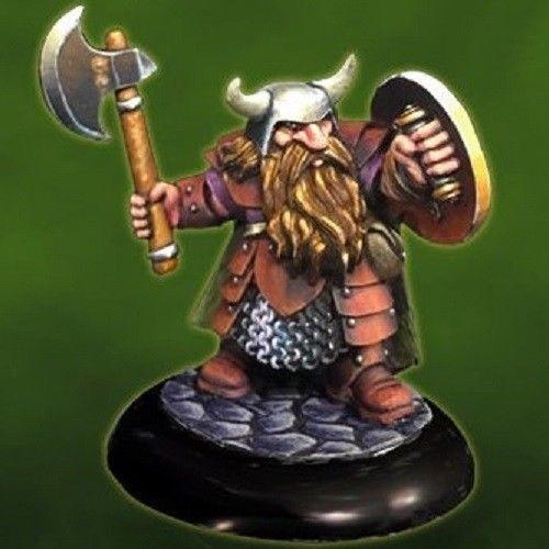 dd borin ironbrow dwarf fighter reaper miniatures 07011 ebay