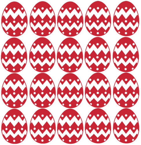 Wall Mirror Window Scrapbooking Cardmaking 20 x Easter Egg stickers Crafting