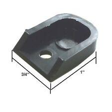 Sliding Shower Door Plastic Finger Pull - Pack of 2