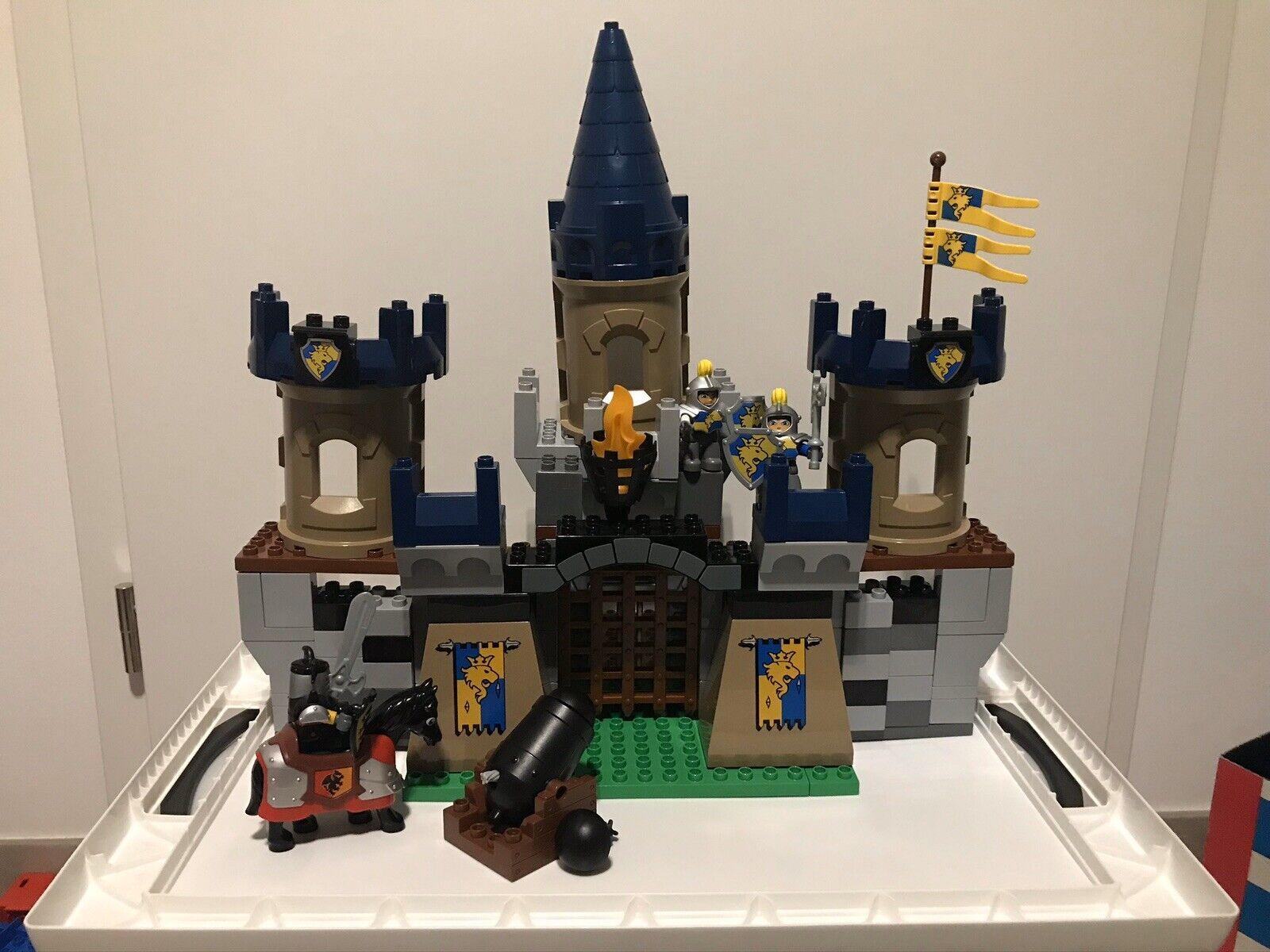 Lego Duplo Große Ritterburg Set 4864 top Neuwertig