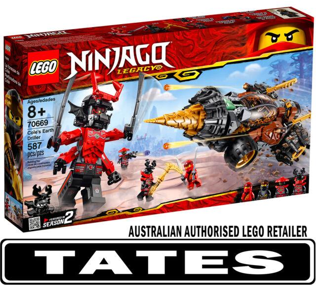 LEGO 70669 Cole's Earth Driller Ninjago from Tates Toyworld