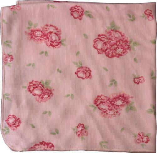 Petit Bateau NEU Schmusetuch Spucktuch Halstuch Blümchen rosa