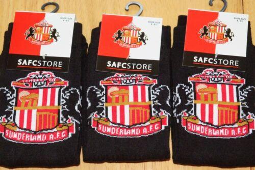 Ragazzi Sunderland football club badge stemma dell/'Team Calze 2 Taglie Nuovo
