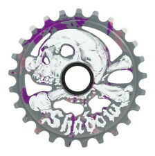 SHADOW CONSPIRACY SABOTAGE GUARD SPROCKET 25t BMX BIKE FIT SUBROSA CULT SILVER
