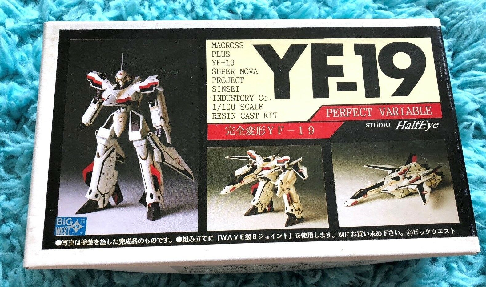 Macrous Plus YF -19 1  100 PERFECT Variable hkonsts kit Studio Halfeye Valkyrie NEW